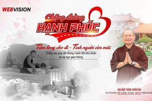 Webvision Việt Nam phát động chương trình 'Chặng đường hạnh phúc'
