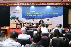 Thực hiện EVFTA, ngành hải quan cam kết tạo thuận lợi tối đa cho doanh nghiệp