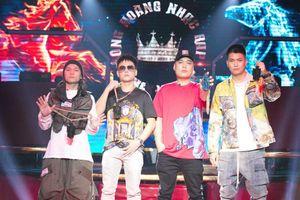 BigDaddy, Datmaniac, LK và Lil'Shady quyền lực trong ngày ghi hình 'King Of Rap'