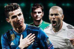 Đội hình ngôi sao từng sát cánh cùng Casillas ở Real Madrid
