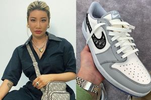 Người phụ nữ đầu tiên sở hữu giày Nike Dior hiếm 2.000 USD