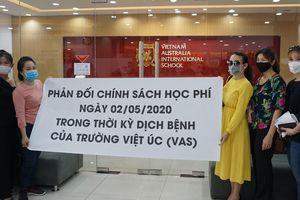 'Trường Việt Úc từ chối nhận 40 em vì bất đồng học phí là tiêu cực'