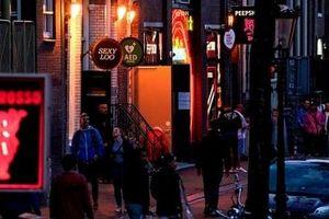 Khu đèn đỏ Amsterdam mở cửa trở lại