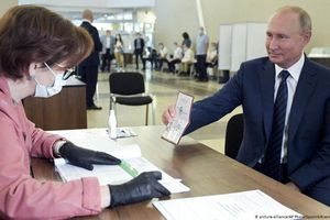 Cử tri Nga ủng hộ sửa đổi Hiến pháp