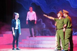 Liên hoan nghệ thuật sân khấu toàn quốc về 'Hình tượng người chiến sĩ Công an nhân dân'