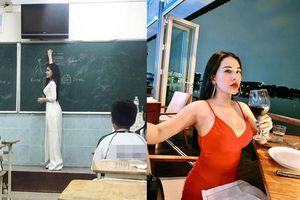Cô giáo trẻ gây sốt vì ăn mặc nóng bỏng khi rời bục giảng