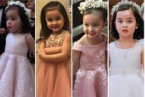 Chỉ một bức ảnh, Con gái mỹ nhân đẹp nhất Philippines 'gây bão mạng'