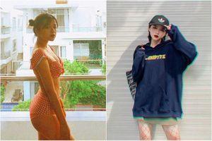 Nhờ body đồng hồ cát, hot girl ĐH Hà Nội nổi như cồn trên MXH