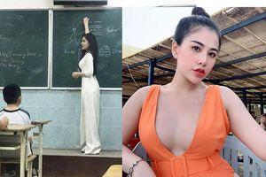 Chuộng ăn mặc hở bạo bên ngoài bục giảng, nữ giáo viên khiến dân mạng tranh cãi gay gắt