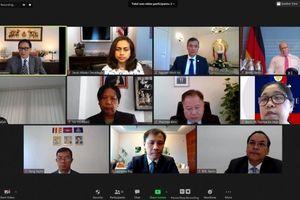 Các Đại sứ ASEAN tại Berlin họp trực tuyến với Bộ trưởng Kinh tế và Năng lượng Đức Peter Altmaier