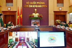 Tư lệnh BĐBP biểu dương công tác tuyên truyền trong tháng 6-2020