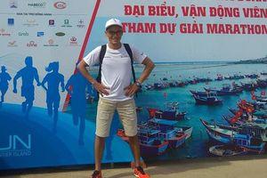Ăn mỳ tôm vô địch Tiền Phong Marathon