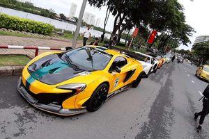 Dàn siêu xe tụ họp ở biển Vũng Tàu