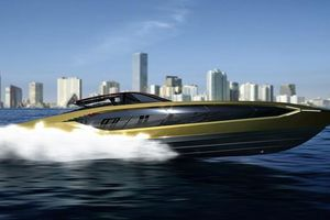 Lamborghini ra mắt siêu du thuyền, giới hạn 63 chiếc, giá 3,4 triệu USD