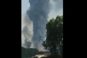 Nổ lớn tại nhà máy pháo hoa ở Thổ Nhĩ Kỳ, 87 người thương vong