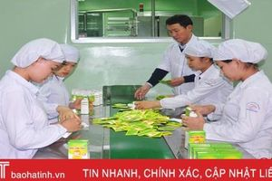 Công ty CP Dược Hà Tĩnh phấn đấu hàng năm cho ra đời 7 - 10 sản phẩm mới
