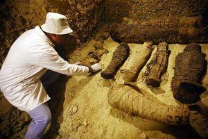 Khám phá khu mộ cổ lớn với 50 xác ướp từ trước Công nguyên