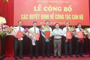 Bộ GTVT bổ nhiệm nhiều nhân sự mới