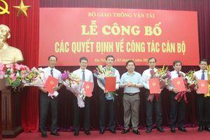 Bộ GTVT bổ nhiệm nhiều vị trí lãnh đạo mới