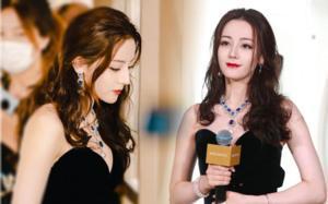 Địch Lệ Nhiệt Ba dự sự kiện: Không chỉnh sửa vẫn đẹp xuất sắc, được fans đề nghị nên thử đóng vai phản diện