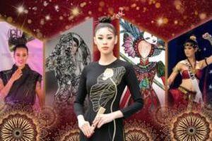 Miss Universe thích 'biến hình' - múa võ, có ngay 14 mẫu National Costume quá xuất sắc cho Khánh Vân giật giải