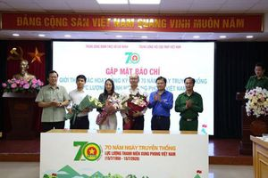 Nhiều hoạt động ý nghĩa dịp Kỷ niệm 70 năm ngày truyền thống lực lượng Thanh niên Xung phong