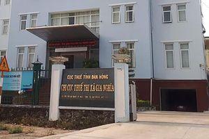 Đắk Nông: Cán bộ thuế bị bắt vì tống tiền một cơ sở kinh doanh