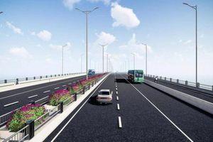 Lộ diện hình ảnh thiết kế cầu Vĩnh Tuy 2 hơn 2.500 tỷ đồng