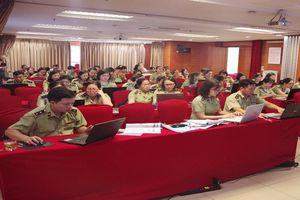 Quản lý thị trường Hà Nội: Nâng cao nghiệp vụ đấu thầu qua mạng