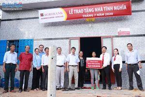 Agribank chi nhánh Sa Huỳnh hỗ trợ xây dựng nhà đại đoàn kết