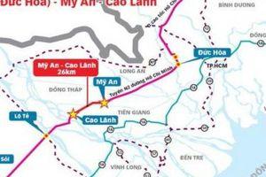 Đề xuất đầu tư 194 triệu USD xây tuyến Mỹ An - Cao Lãnh dài 26 km