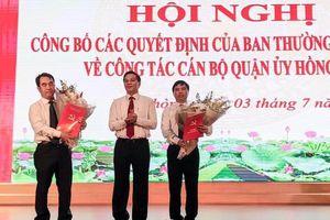 Chủ tịch quận Hồng Bàng được bổ nhiệm giữ chức Phó Giám đốc Sở Lao Động, Thương binh và Xã hội Hải Phòng