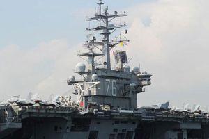Mỹ điều 2 tàu sân bay đến Biển Đông khi Trung Quốc đang tập trận