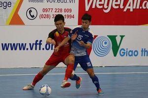 Lượt 8 VCK Futsal HDBank VĐQG 2020: Sahako 'hụt hơi', Thái Sơn Nam vô địch lượt đi