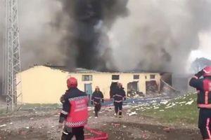 Thương vong tăng mạnh trong vụ nổ nhà máy pháo hoa ở Thổ Nhĩ Kỳ