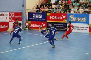 Giải VĐQG Futsal 2020: Thái Sơn Nam chạm một tay tới chức vô địch