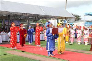 Lễ hội Cầu ngư - Bơi chải thu hút khách du lịch đến với Sầm Sơn