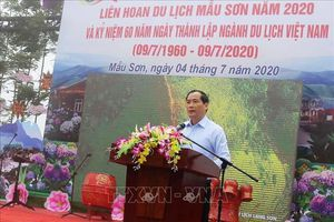 Du lịch Việt Nam: Khai mạc Liên hoan du lịch Mẫu Sơn năm 2020