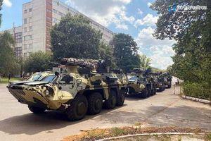 Quân đội Ukraine nhận lô thiết giáp BTR-4E mới