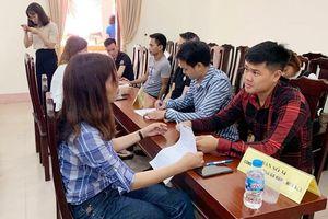 Phiên giao dịch việc làm huyện Mê Linh năm 2020: Đa dạng vị trí với mức lương hấp dẫn