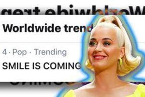 Chưa phát hành, album phòng thu của Katy Perry đột nhiên đã lọt Top 1 thịnh hành toàn cầu, lý do đưa ra chính là