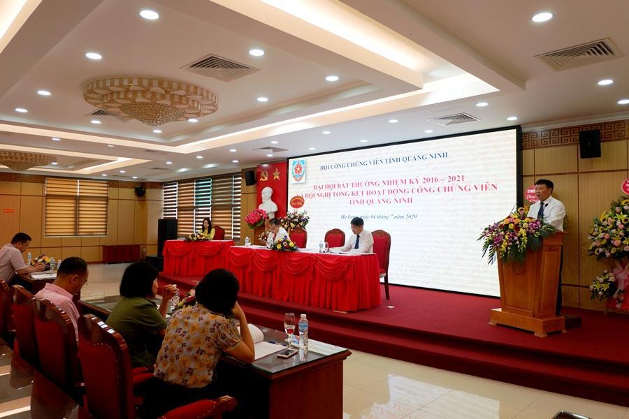 Hội Công chứng viên tỉnh tổ chức Đại hội bất thường nhiệm kỳ 2016-2021