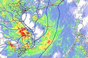 Cảnh báo lốc, sét, mưa đá, gió giật mạnh ở Bắc và Trung Bộ