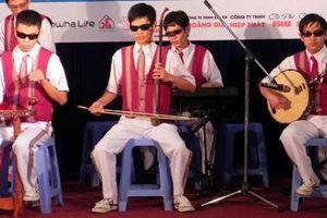 Ban nhạc khiếm thị Hy Vọng ước được sống bằng nghề