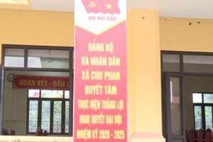 Hà Nội nghi vấn gian lận phiếu bầu tại Đại hội Đảng bộ xã