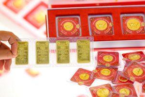 Tuần qua, giá vàng trong nước tăng hơn 400.000 đồng/lượng