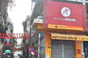 Thế giới di động đóng cửa chuỗi điện thoại siêu rẻ tại TP.HCM