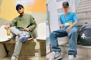 Châu Kiệt Luân, Jay Park và dàn sao khoe ảnh đi giày Nike Dior hiếm