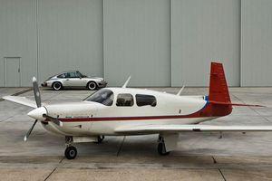 Máy bay của Porsche đang được rao bán với giá hơn 100.000 USD