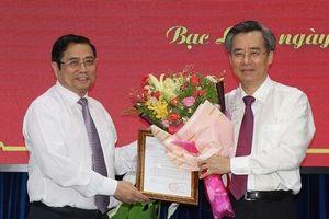 Bí thư Tỉnh ủy Bạc Liêu Nguyễn Quang Dương giữ chức Phó Ban Tổ chức Trung ương